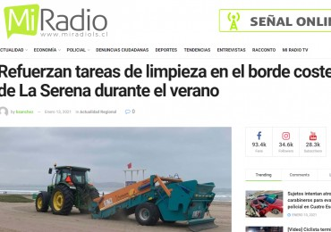 Nuestras maquinas son noticia en un diario digital de Chile